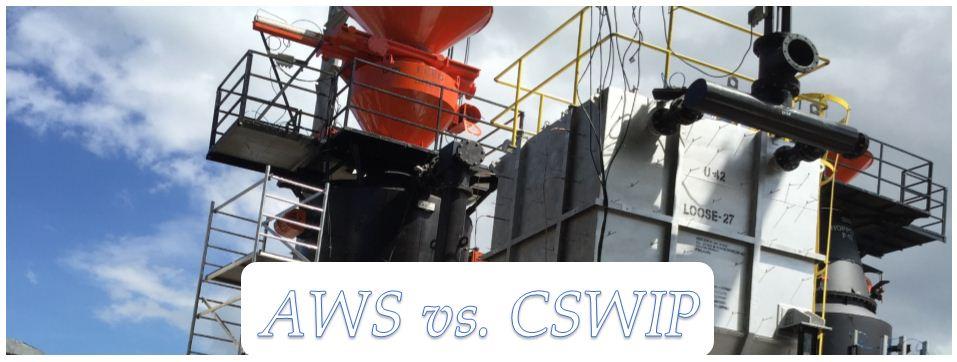 الفرق بين AWS CWI and CSWIP